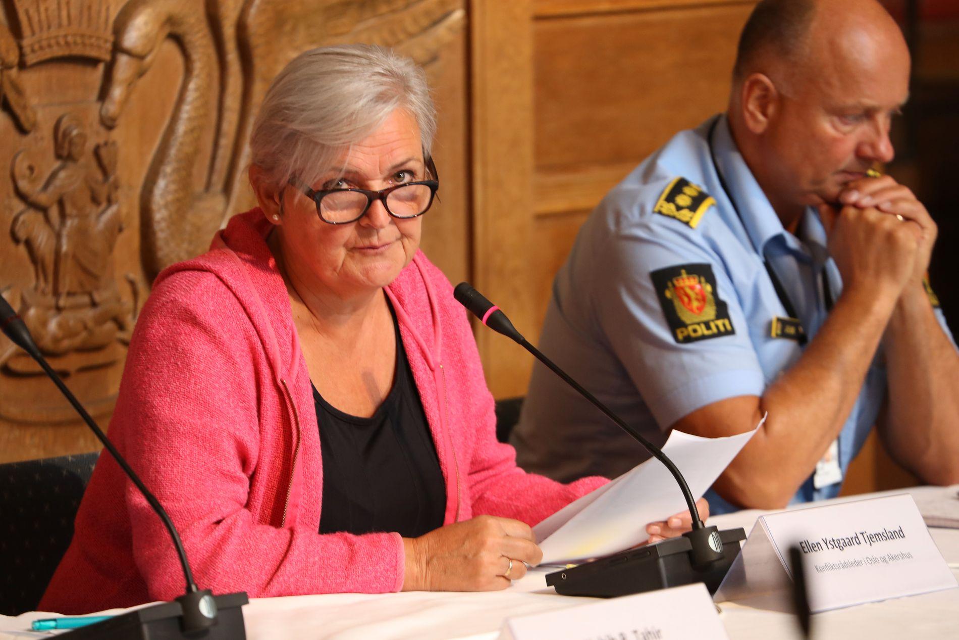MINDREÅRIGE. Én av tre fullfører ikke oppfølgingen Konfliktrådet tilbyr unge lovbrytere mellom 15 og 18 år. Leder av Konfliktrådet Ellen Ystgaard Tjemsland delte sine erfaringer under dagens høring om ungdomskriminalitet i Oslo bystyre.