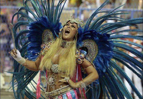 Karnevalet nådde klimaks i Rio