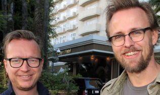 Espen Sandberg (t.v.) og Joachim Rønning