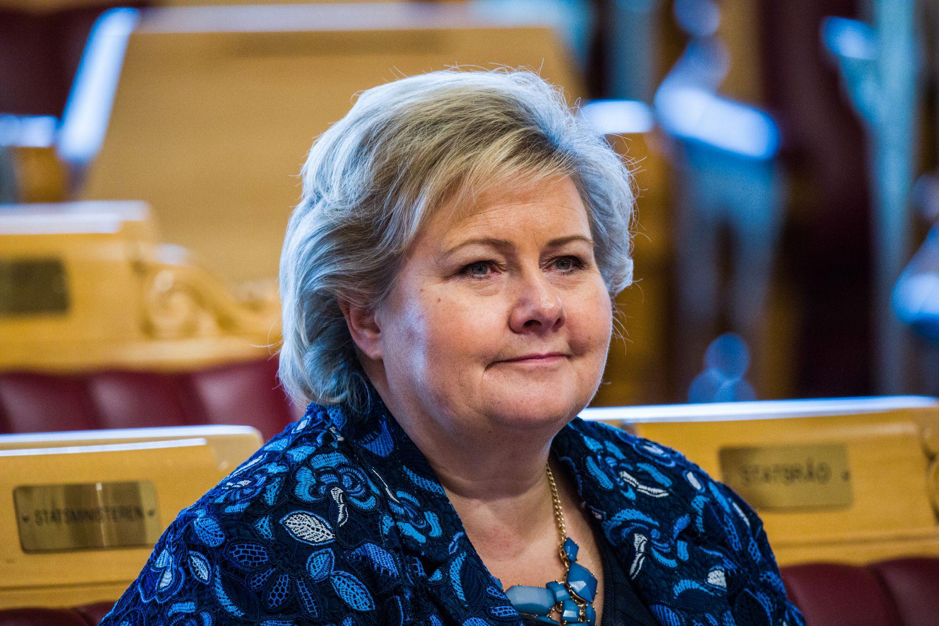 SIER UNNSKYLD: Erna Solberg ber nå om unnskyldning til de tre brødrene i Tolga-saken.