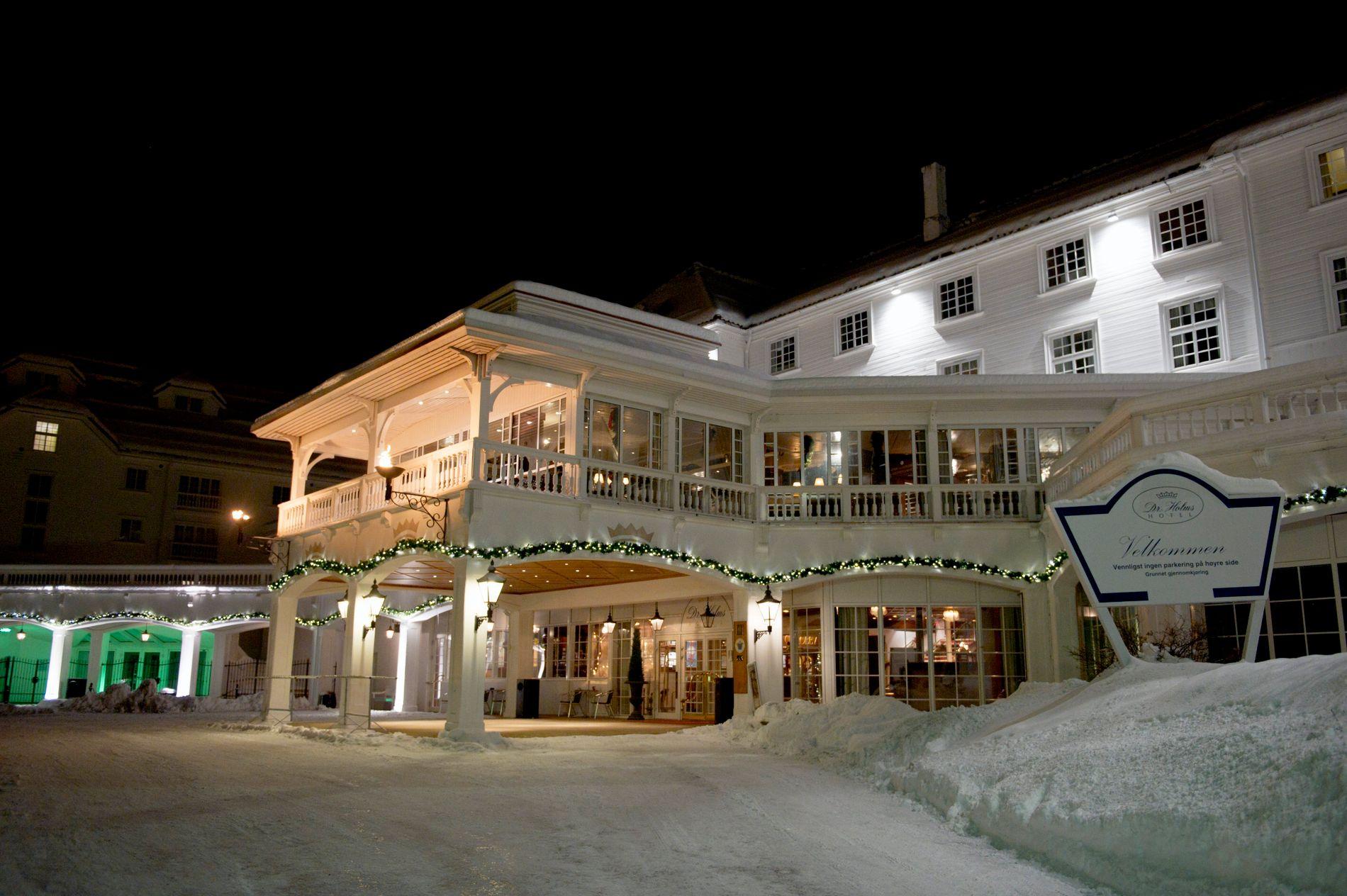 EKSKLUSIVT: Dr. Holms på Geilo er kjent som et fasjonabelt overnattingssted.