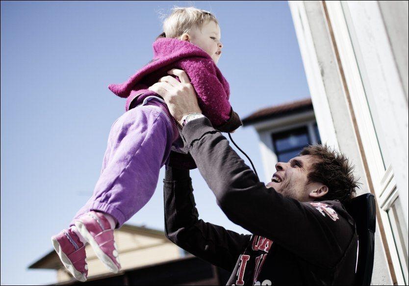 FÅR ÆREN: Rune Almenning Jarstein gir datteren Line æren for sin egen modningsprosess. Foto: Trond Sørås
