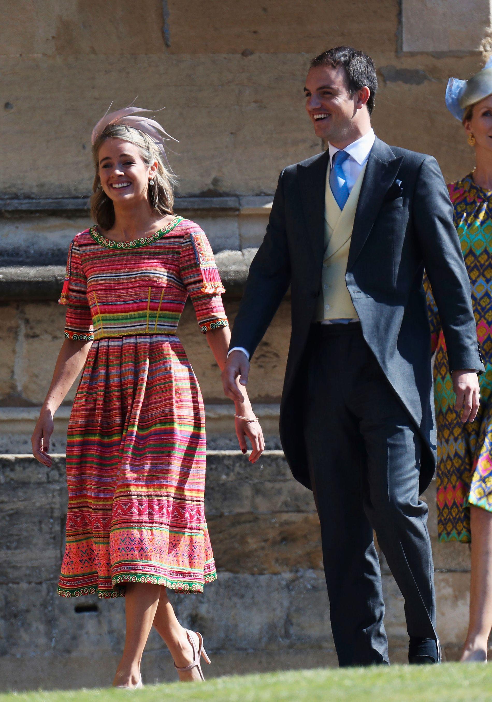 EKSKJÆRESTER: Cressida Bonas er også invitert i prins Harrys bryllup.