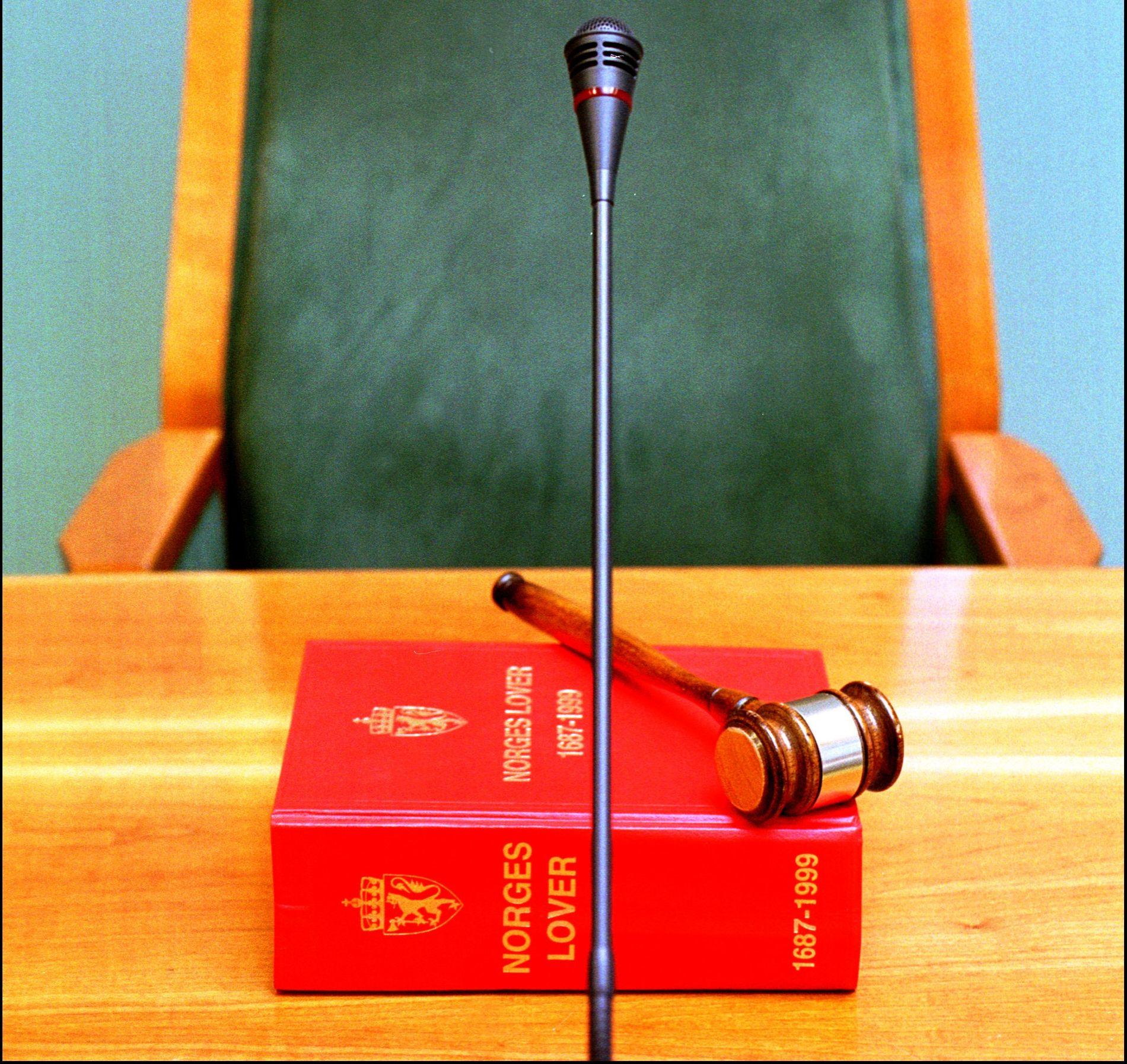 HEVN: Dommere og ansatte ved norske domstoler utsettes i økende grad for trusler.