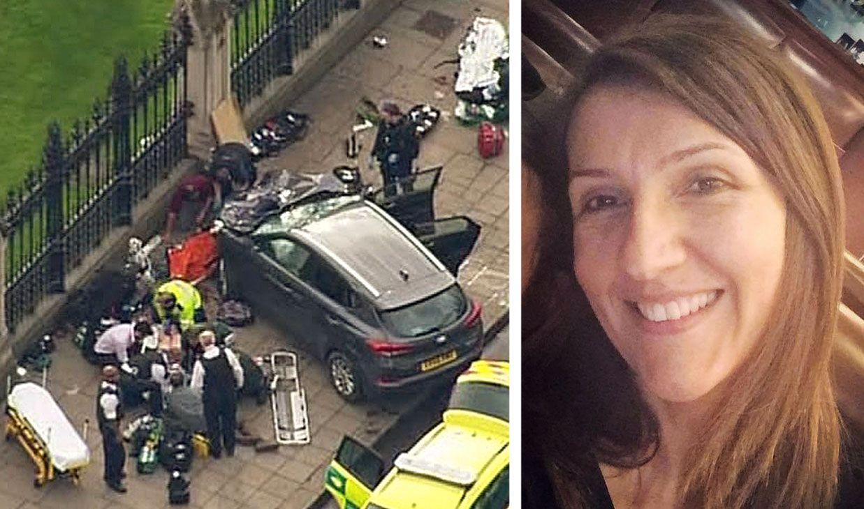 DREPT: Læreren Aysha Frade (43) er et av ofrene etter den tragiske hendelsen i London onsdag.