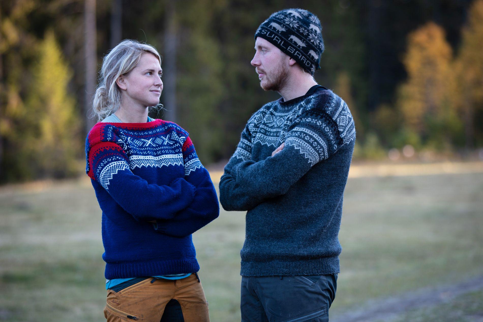 AMPERT: Det skal ha vært amper stemning mellom Kjetil og Tonje allerede før søndagens finale gikk igang.