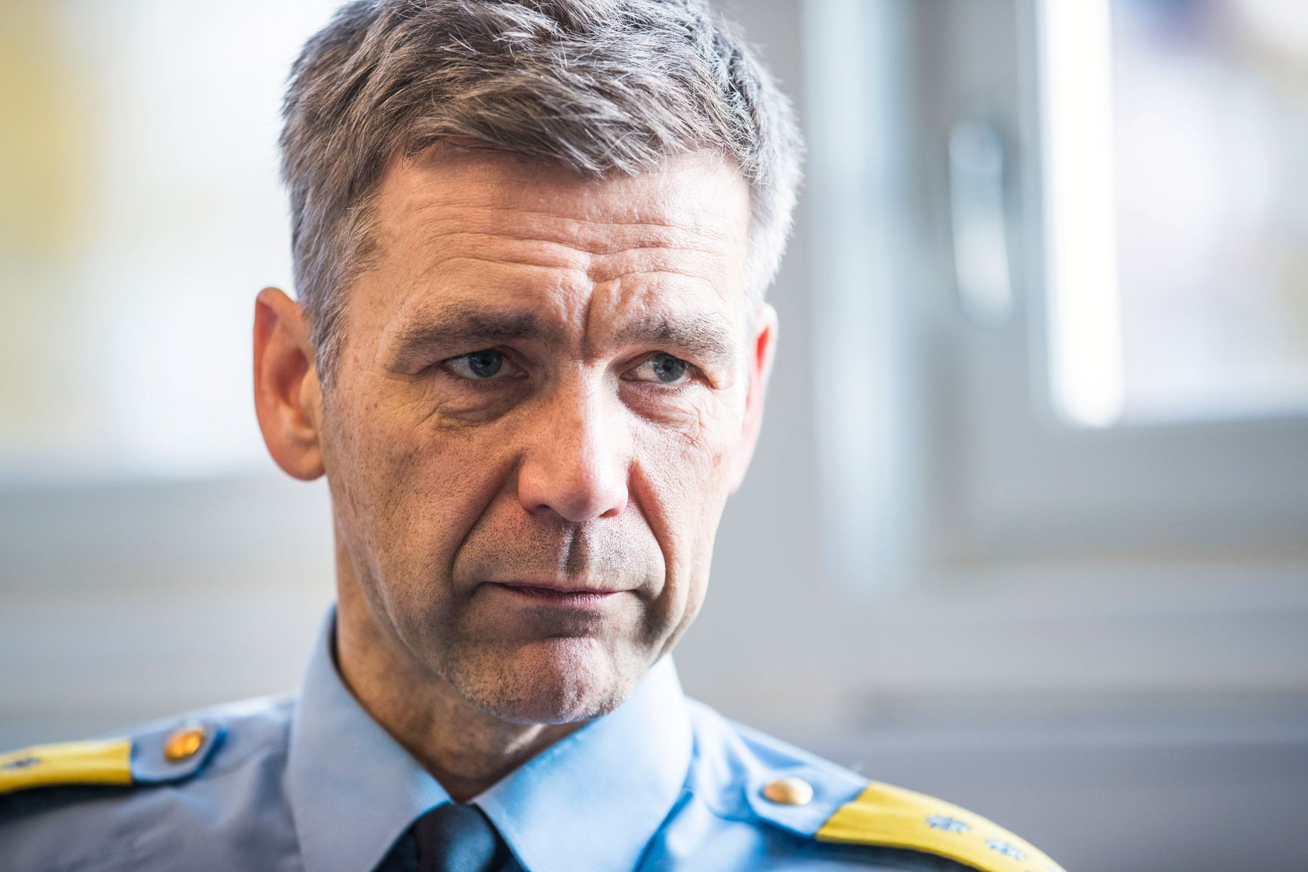 STERKT KRITISK: Morten Hojem Ervik, sjef i Politiets utlendingsenhet (PU), sier politiets arbeid på utlendingsfeltet blir svekket og fragmentert hvis utvalget får viljen sin.