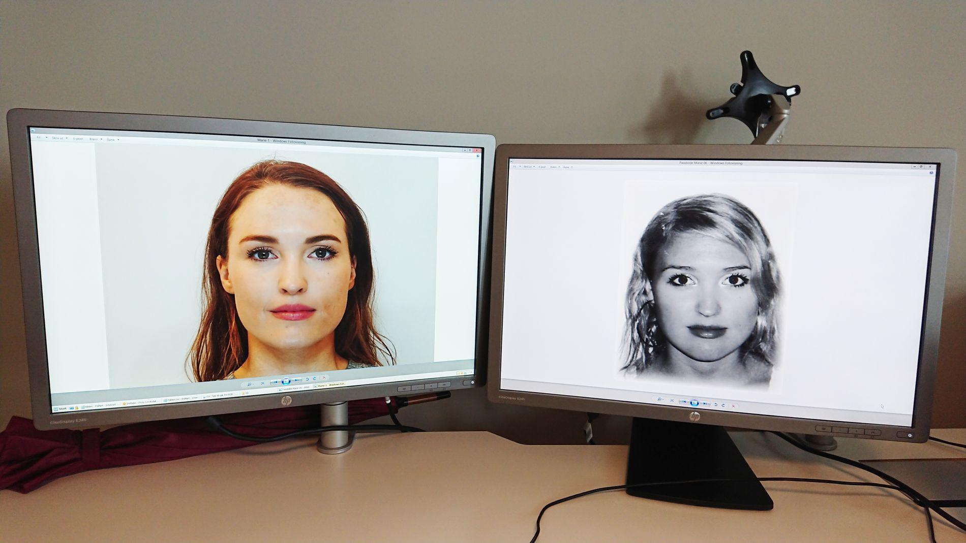 NY BILDETYPE: Passbildene skal nå tas i en mye høyre kvalitet, for å gjøre det enklere å avsløre juks i det nye ansiktsgjenkjenningssystemet.