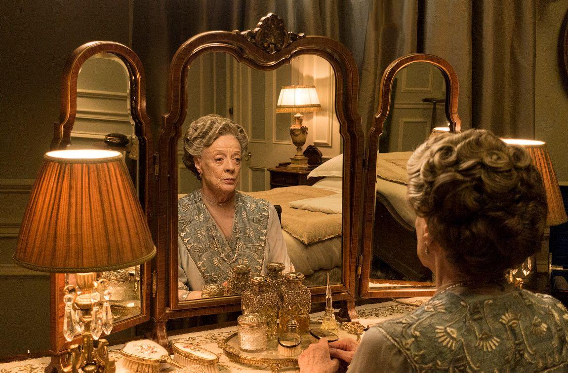 ENKEGREVINNE: Maggie Smith, som også er kjent fra Harry Potter-filmene, returnerer til «Downton Abbey» når serien blir film.
