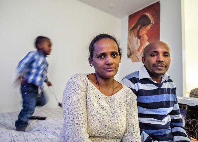 4be3323f FÅR IKKE BLI, KAN IKKE DRA: Roza Abady Ashber (31) har fått endelig avslag,  men kan ikke returneres til Etiopia. Men det er nettopp dit hun må hvis hun  skal ...