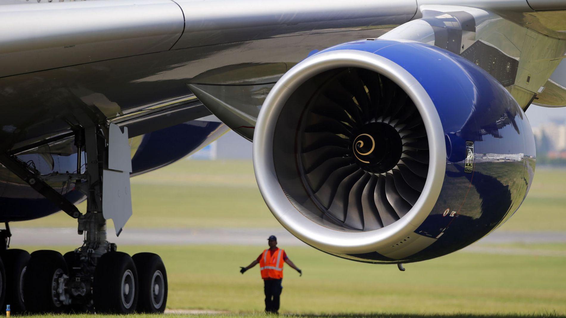 BESKYLDES FOR SIKKERHETSSVIKT: To tidligere ansatte hevder det fremdeles er hundrevis av motorer i drift som har defekter. Her en motor i en Airbus A380.