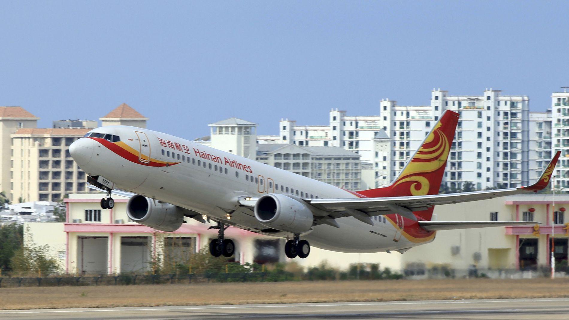 NY RUTE: Flyselskapet Hainan skal fly mellom Norge og Kina.
