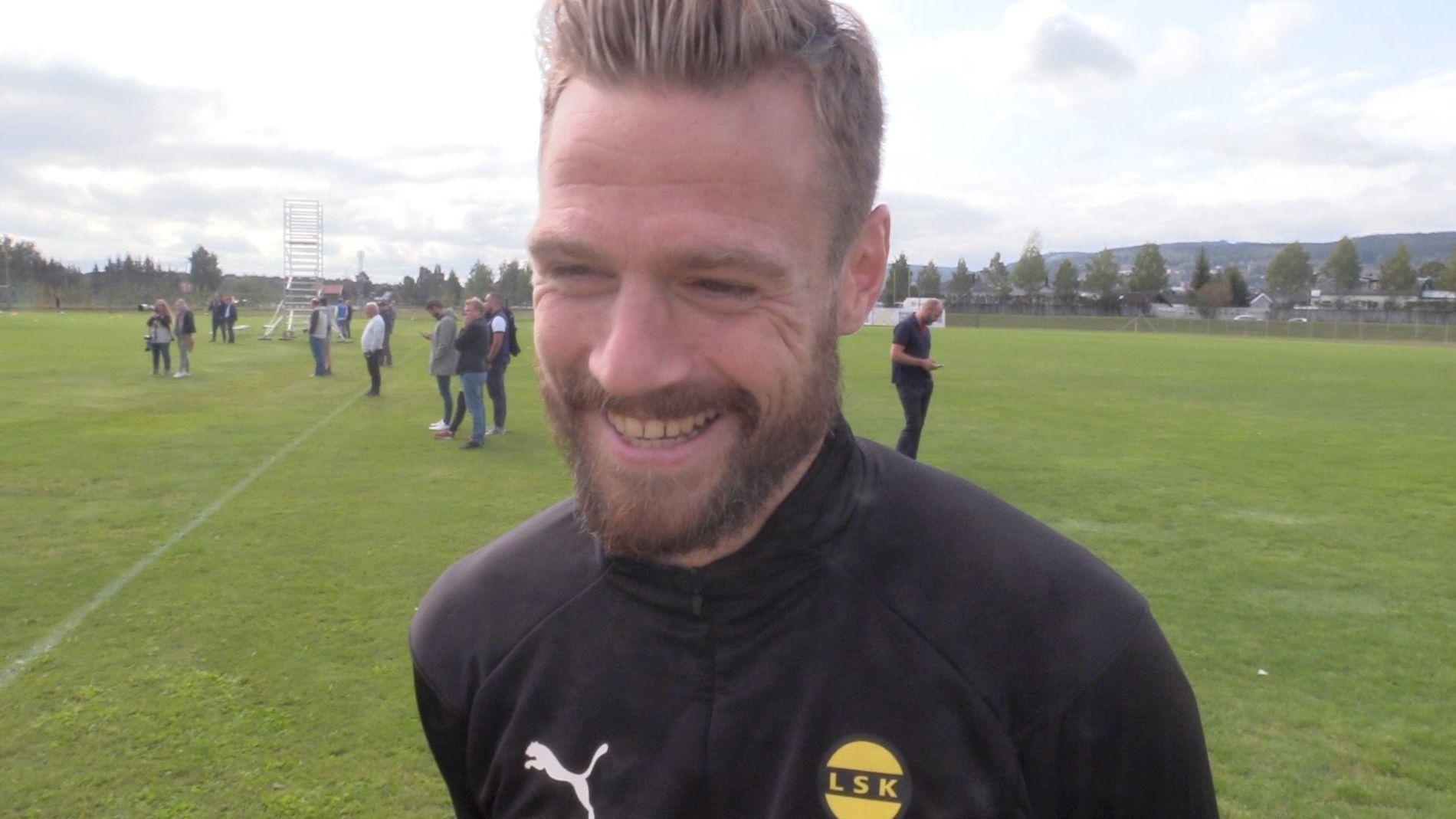 MOTIVERT: Arnór Smárason skal gjøre det han kan for at Lillestrøm beholder plassen i Eliteserien denne høsten.