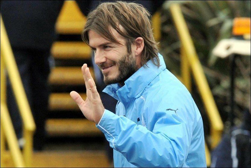 NÆRMER SEG SPURS: David Beckham nærmer seg en avtale låneavtale med Tottenham og kan debutere for London-klubben mot hans tidligere arbeidsgiver Manchester United. Foto: John Stillwell, Ap