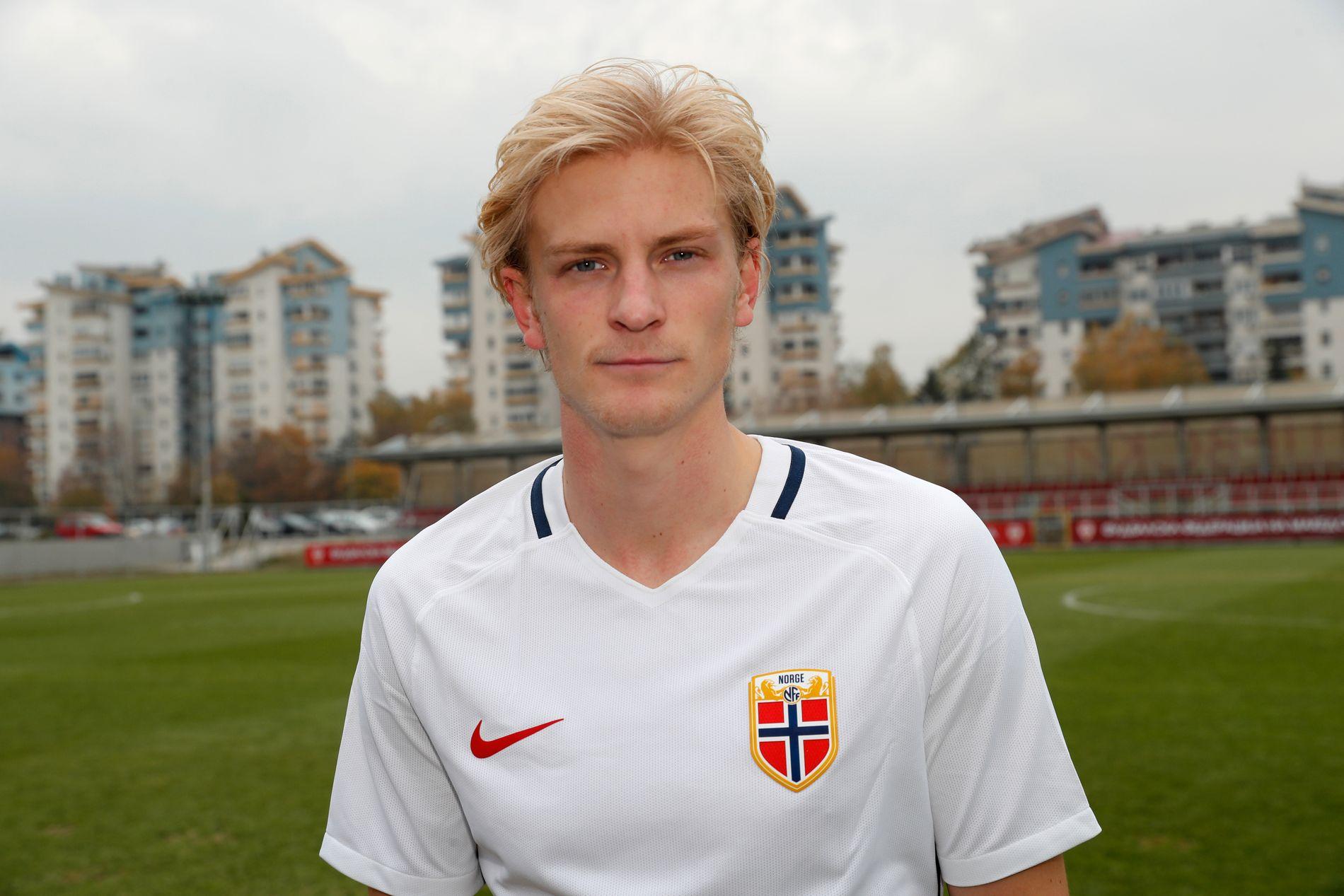 TIL ITALIA: Norge får en ny Serie A-proff i Morten Thorsby, som her er avbildet på landslagssamling.