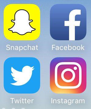 I VEKST: I dag har de fleste tilgang på disse appene på sin mobiltelefon.