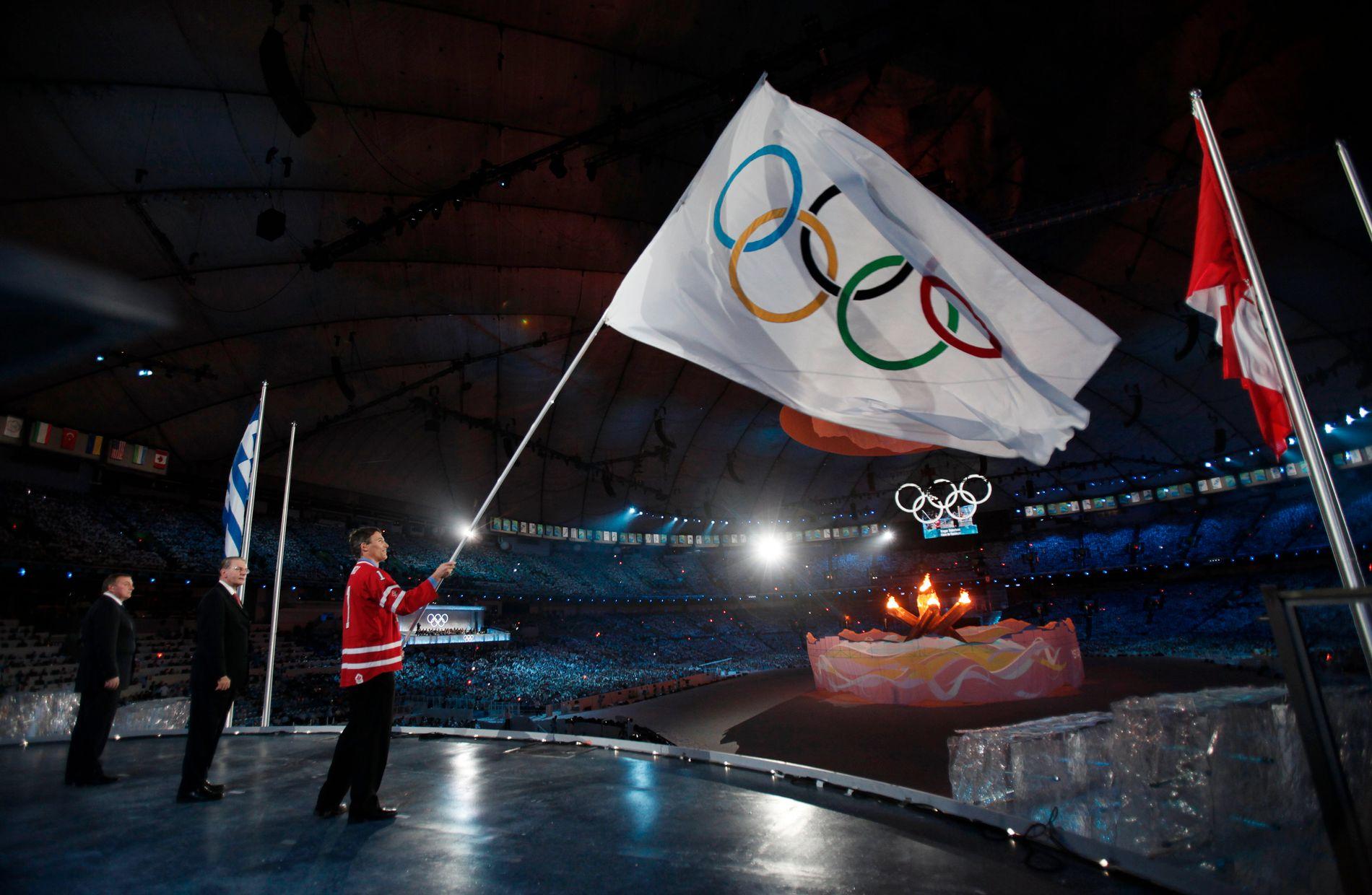 SNART KLART FOR NYTT OL: Om fire måneder starter OL i Pyeongchang. Bildet er fra avslutningsseremonien i 2010.