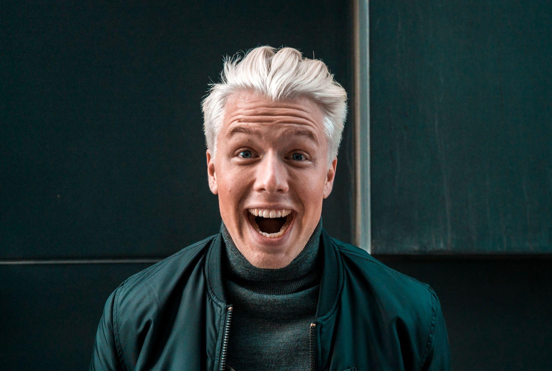 FILMKLAR: Herman Flesvig har nok å gjøre i «Rutete Ninja».