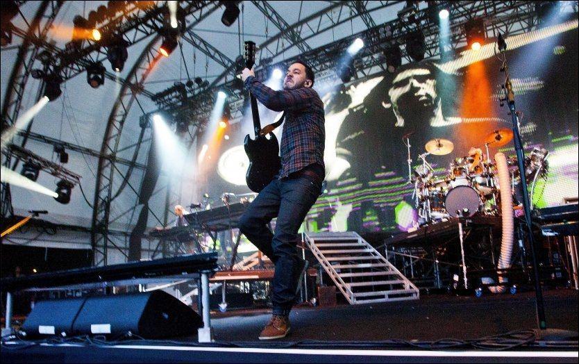MORO PÅ HOVE: Bilde fra festivalen i 2011, med Linkin Park på scenen. Foto: Petter Emil Wikøren, VG