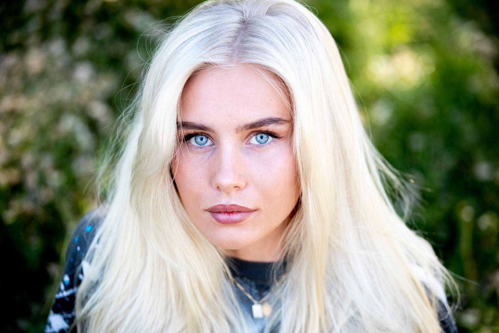 Amalie Snøløs i forbindelse med VG-intervju i 2018.