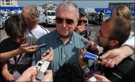 KRITISK 3: Pat McQuaid, president i Det internasjonale sykkelforbundet, sier ingenting overrasker når det kommer til Spania. Foto: AFP
