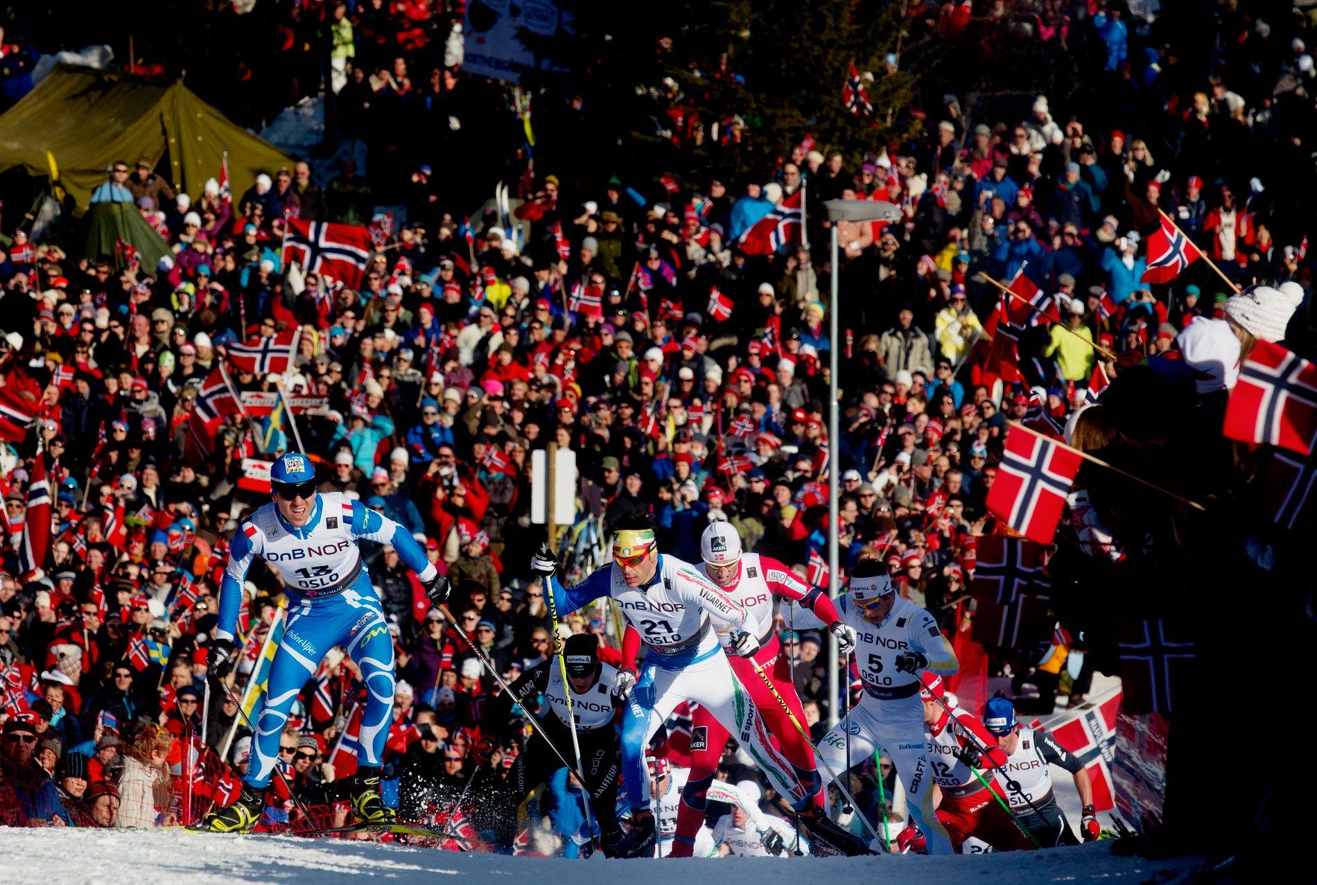 NASJONALAKTIVITET: – Nordmenn er ydmyke på individnivå, men som nasjon vil de være stolte. Som en liten bestående av fem millioner innbyggere, er det ikke så mange ting de kan bli verdensmester i. Langrenn er en av dem, skriver Lorelou Desjardins.