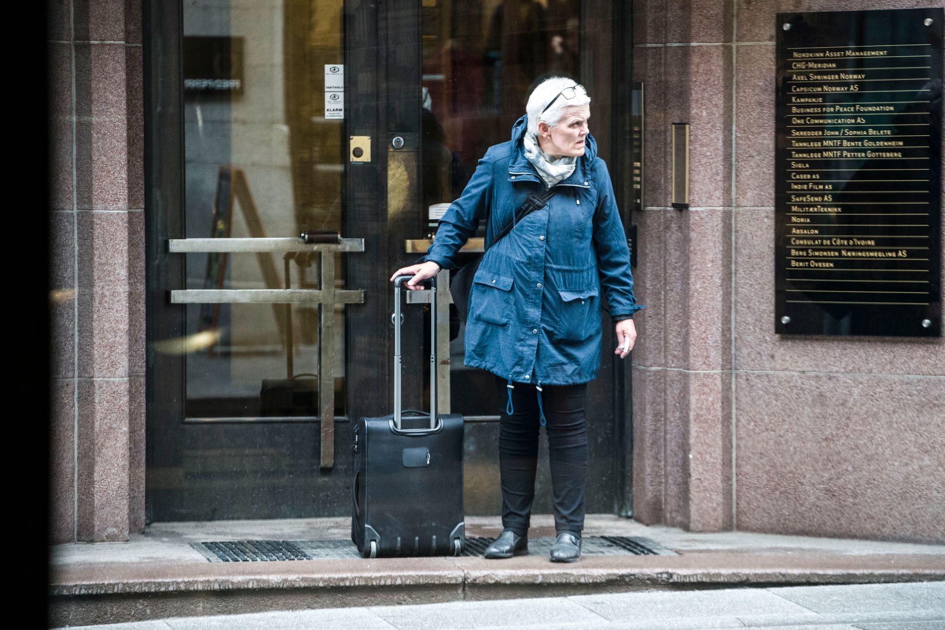 DOMFELT EN REKKE GANGER: Marie Madeleine Steen har siden 1990 vært dømt for en rekke bedrageriforhold.