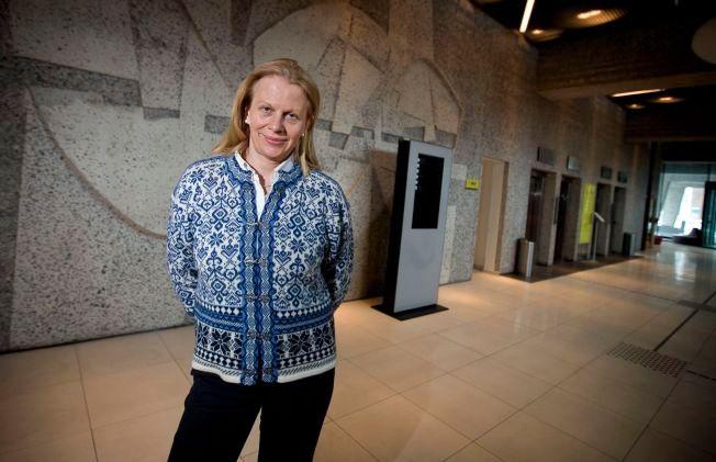 KRITISK: Professor Janne Haaland Matlary ser mørkt på fremtiden til Schengen-samarbeidet.