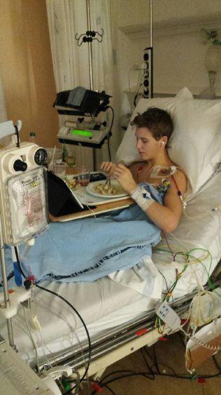 HJERTESYK: Vegard er rammet av alvorlig hjertesvikt - samme diagnose som faren fikk i 1999.
