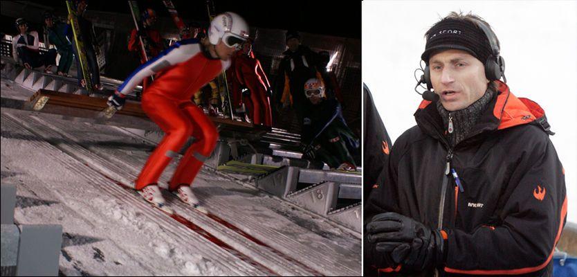 - ET KUPP: Her setter Bjørn Einar Romøren utfor som den første i nye Holmenkollen. Espen Bredesen er sterkt kritisk. Foto: Privat / Scanpix