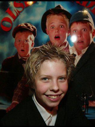PREMIERE-KLAR: Jakob Schøyen Andersen på premieren av «Olenbanden jr.» for 12 år siden.