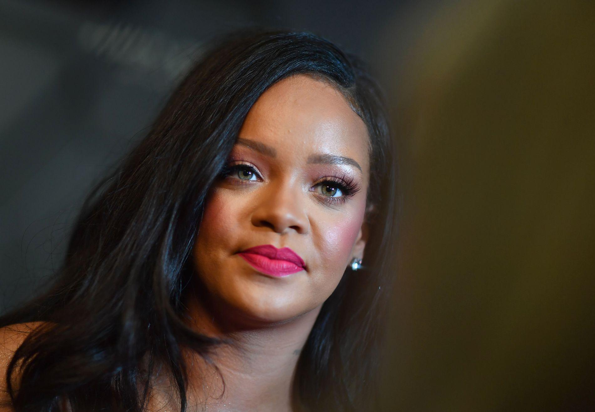 SA NEI: Superstjernen Rihanna ville ikke opptre under Super Bowl.