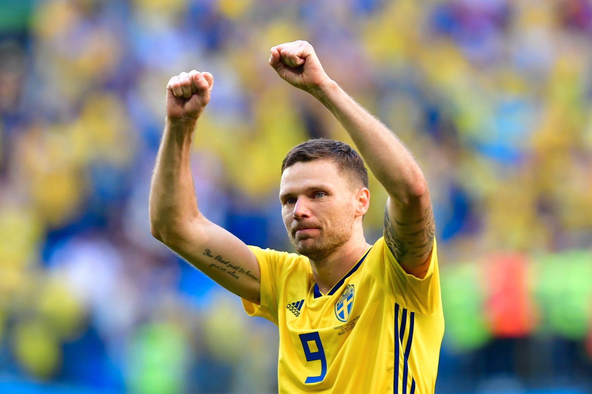 MÅLLØS: Marcus Berg har fortsatt til gode å score et mål i VM.