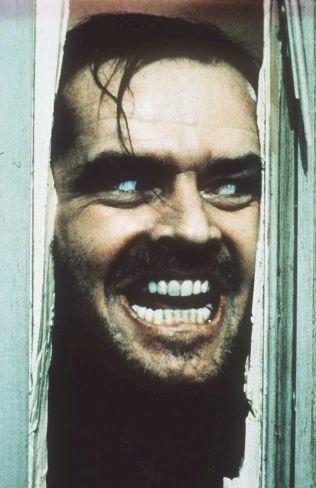 BESATT: Jack Nicholson i rollen som den etter hvert noe forstyrrede Jack Torrance.