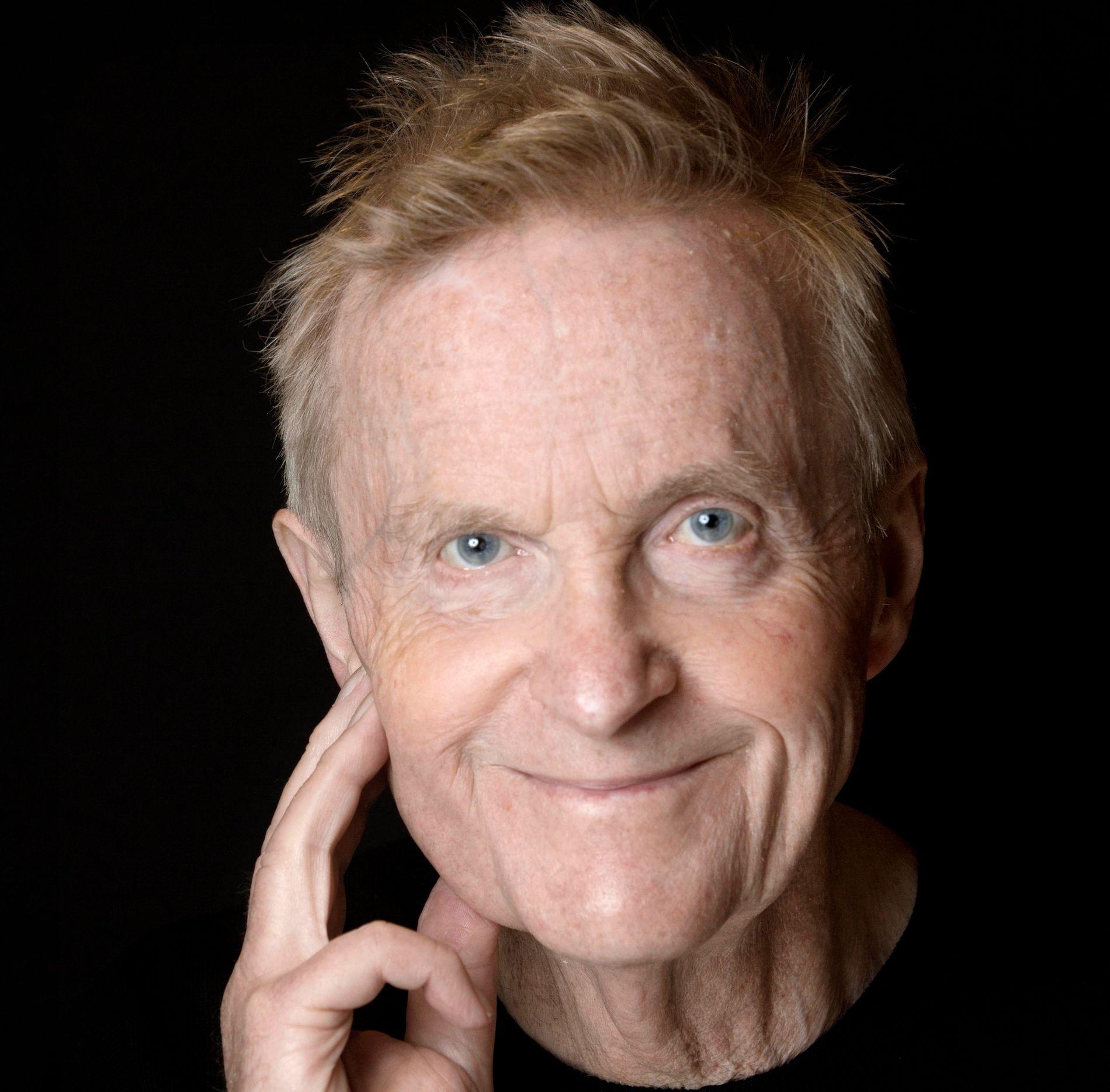DØD: Den kjente advokaten Tor Erling Staff døde søndag 85 år gammel. Bildet er tatt i forbindelse med et intervju i VG Helg i 2013.