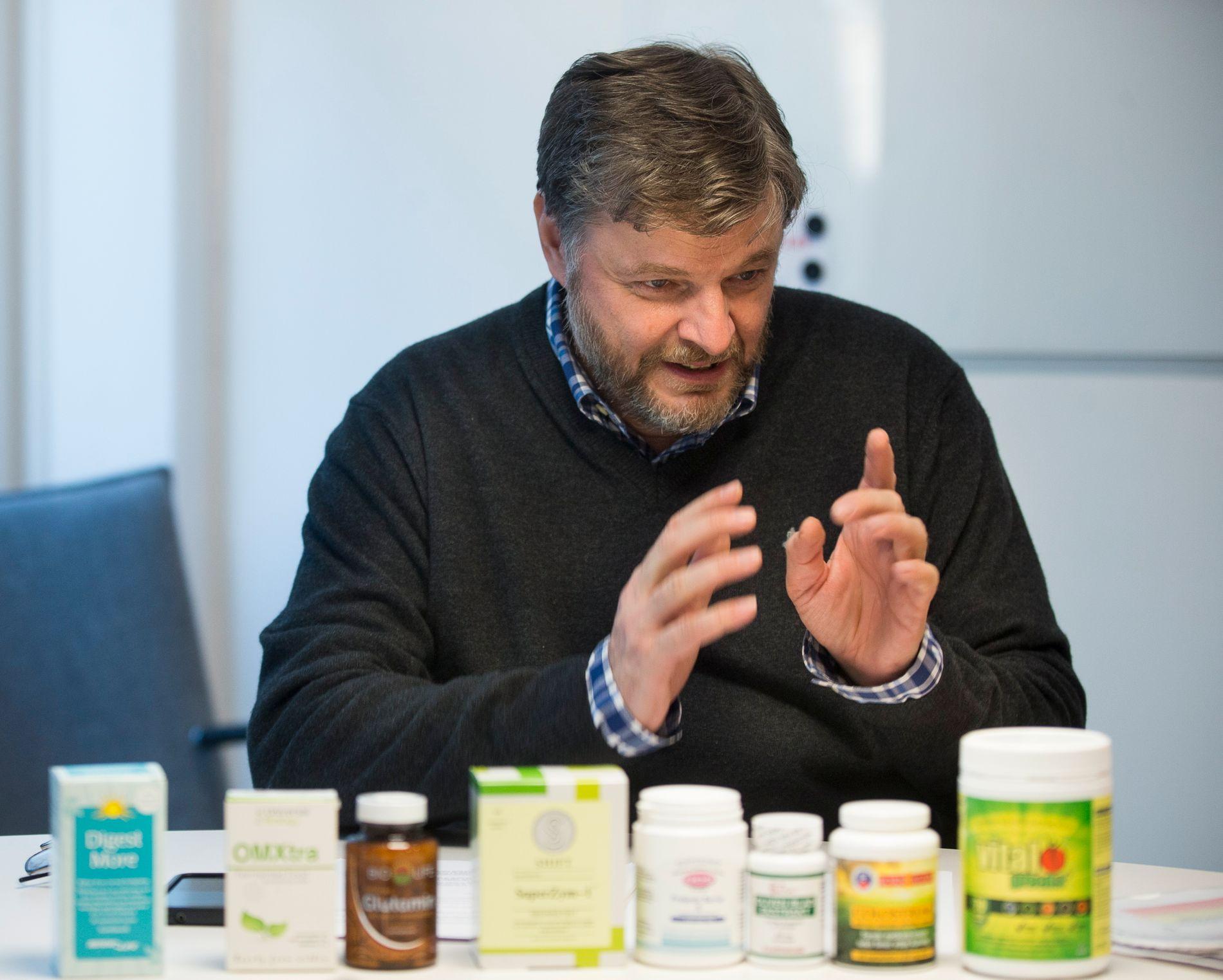 BEKYMRET: Overlege Steinar Madsen tror Norge vil sette enda en rekord i legemiddelmangel i 2017