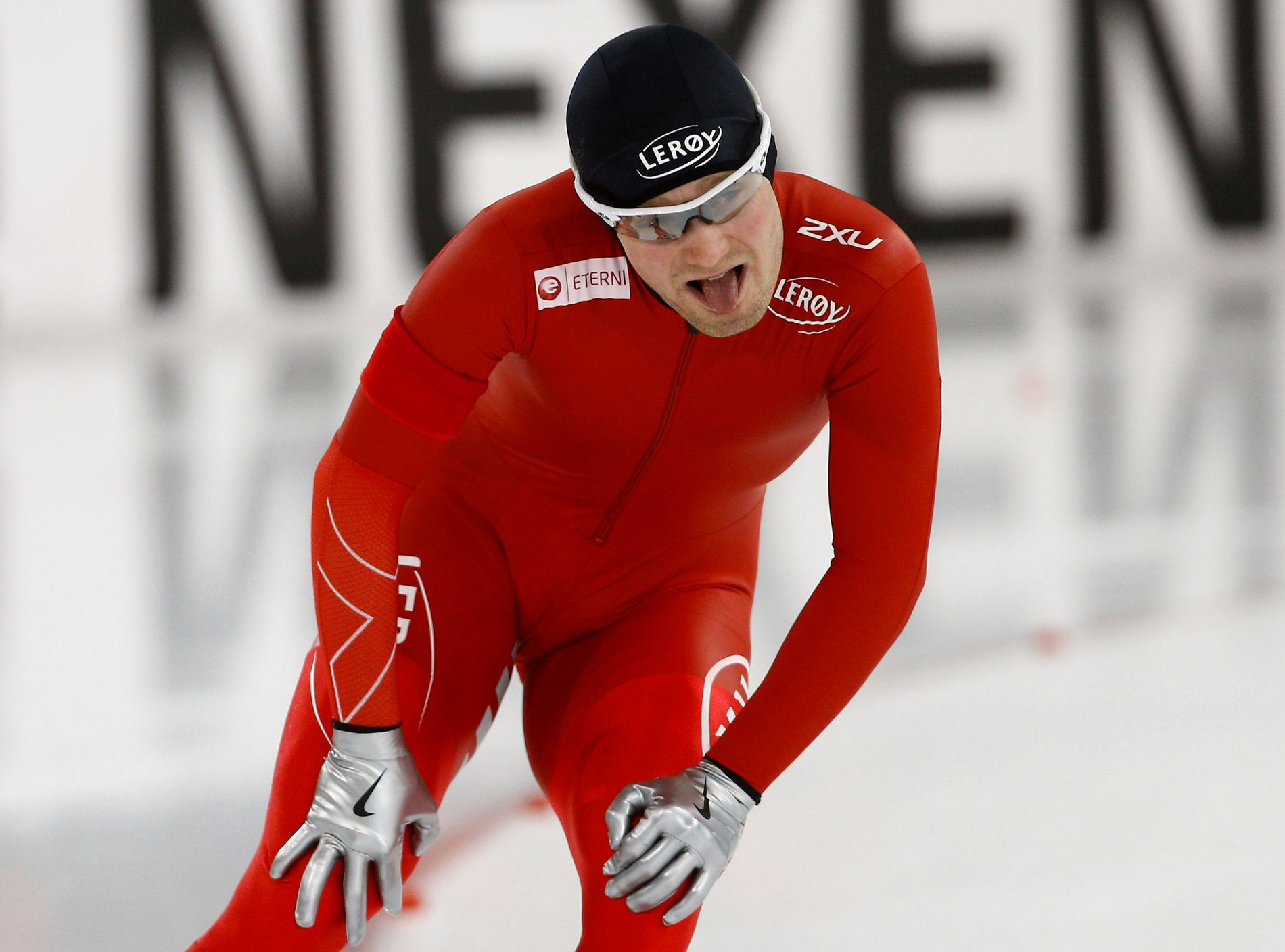 UTENFOR PALLEN: Sverre Lunde Pedersen fikk en tøff avslutning på EM i Heerenveen.
