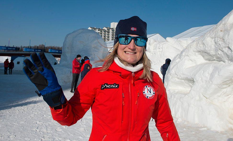 I FLYTSONEN: Marte Olsbu har hatt et fantastisk OL – og fortsatt har hun to individuelle gullmuligheter på normalen og fellesstarten.