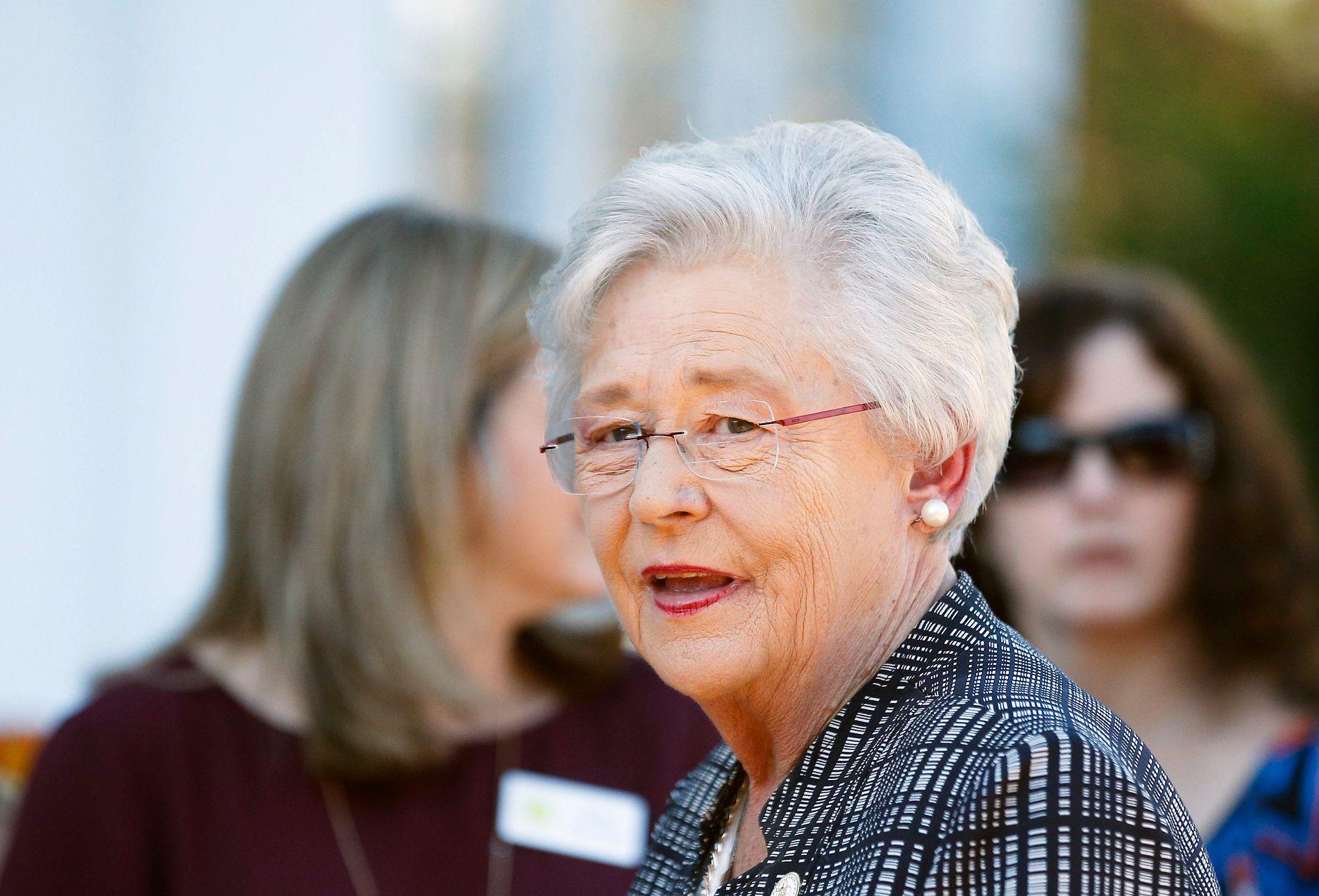 HAR VETO: Guvernør Kay Ivey.