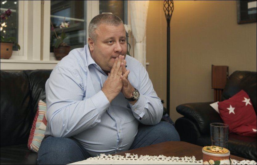 TRAKK SEG: Bård Hoksrud har trukket seg fra alle vervene i Frp og vedtar boten etter han kjøpte sex i Riga. Foto: Nils Bjåland