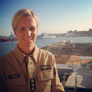 STYRKESJEF: Lise Dunham er operativ leder for det norske mannskapet i redningsarbeidet i Middelhavet.