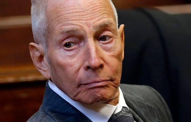 VIRKELIG: Robert Durst i retten i New York i desember i fjor.