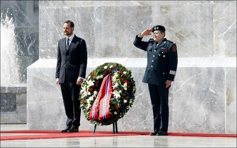 I MEXICO: Kronprins Haakon. Foto: Scanpix