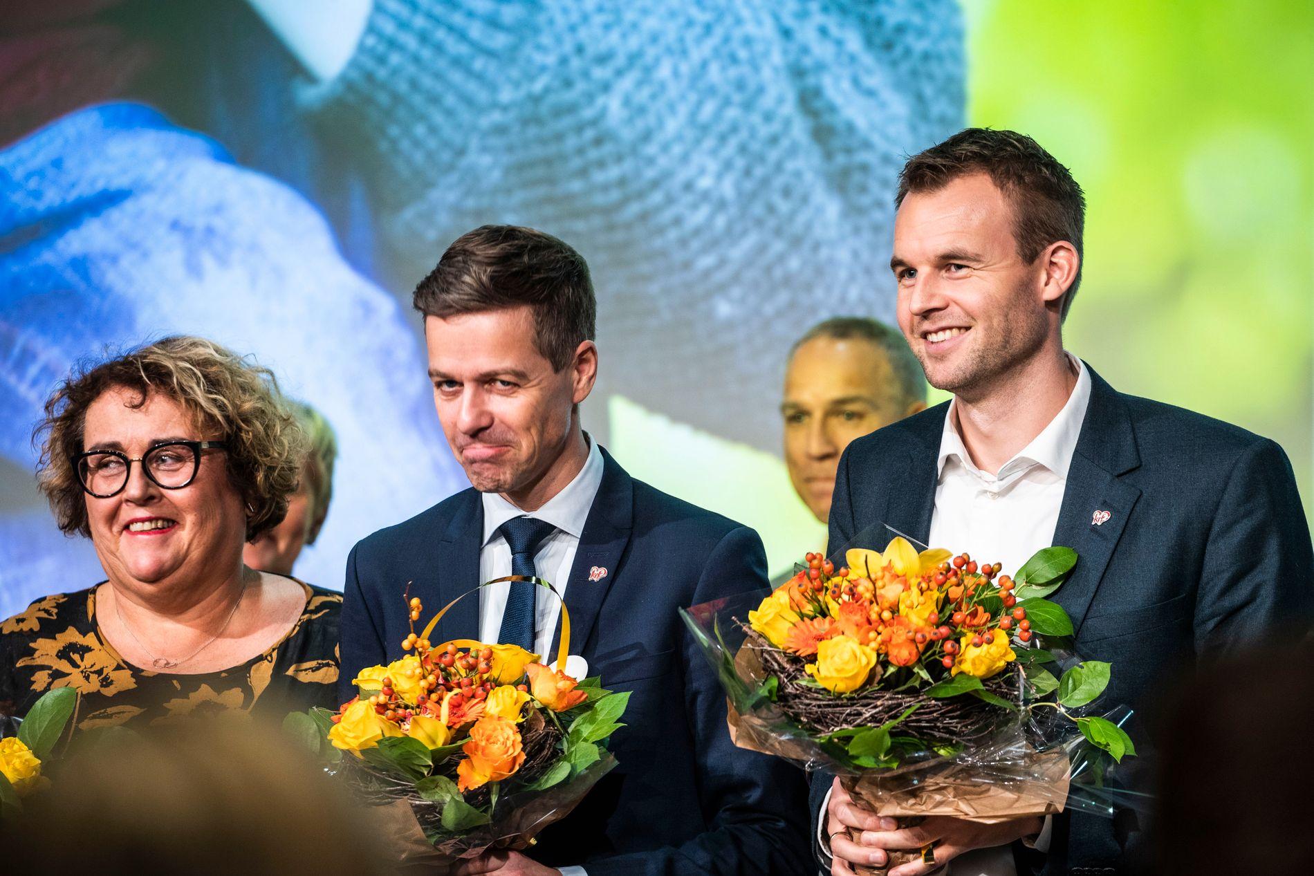 NY LEDER?: Kjell Ingolf Ropstad kan bli ny leder i KrF etter at Hareide tapte valget om retning fredag.