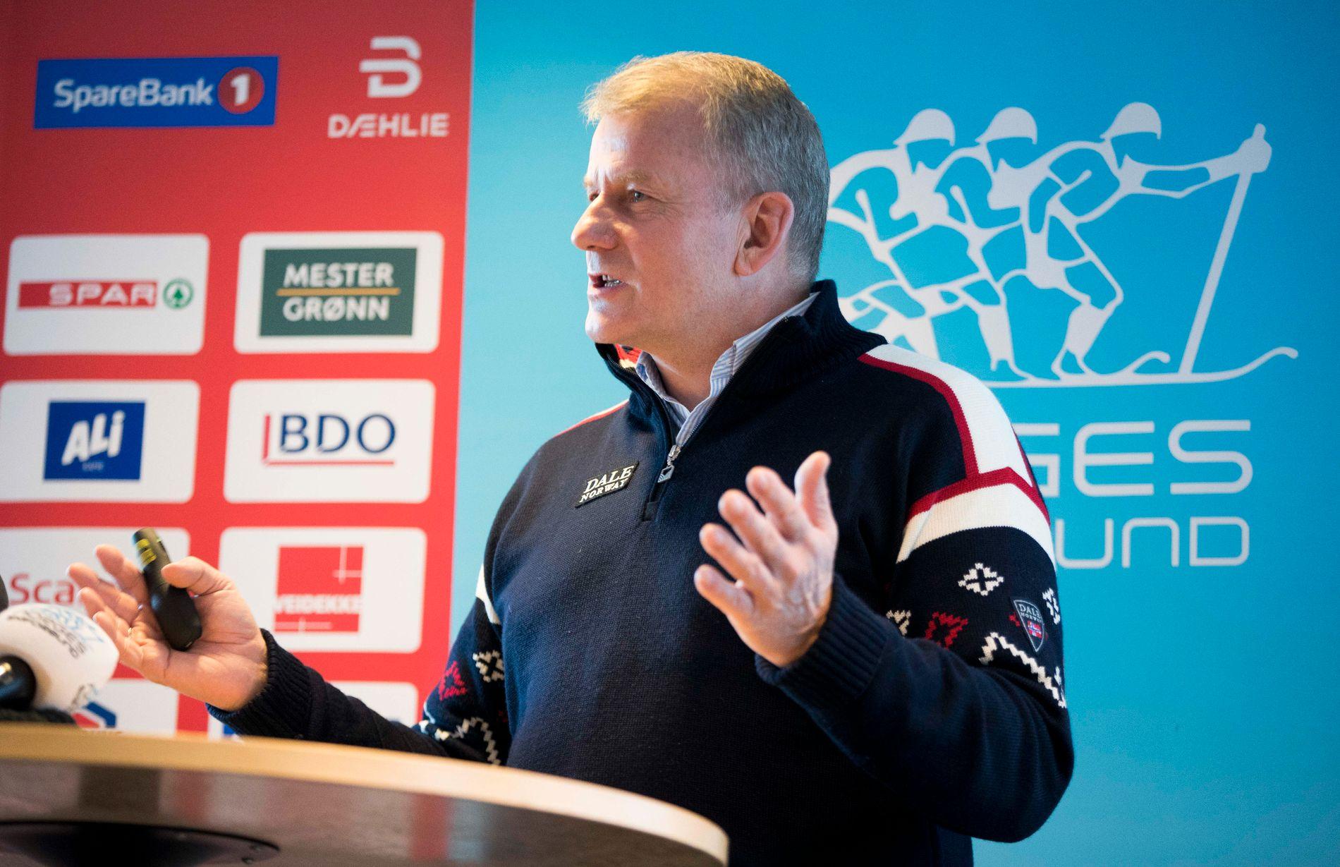 BEKYMRET: Skipresident Erik Røste misliker at WADA ikke har fått tilgang i Russland ennå.