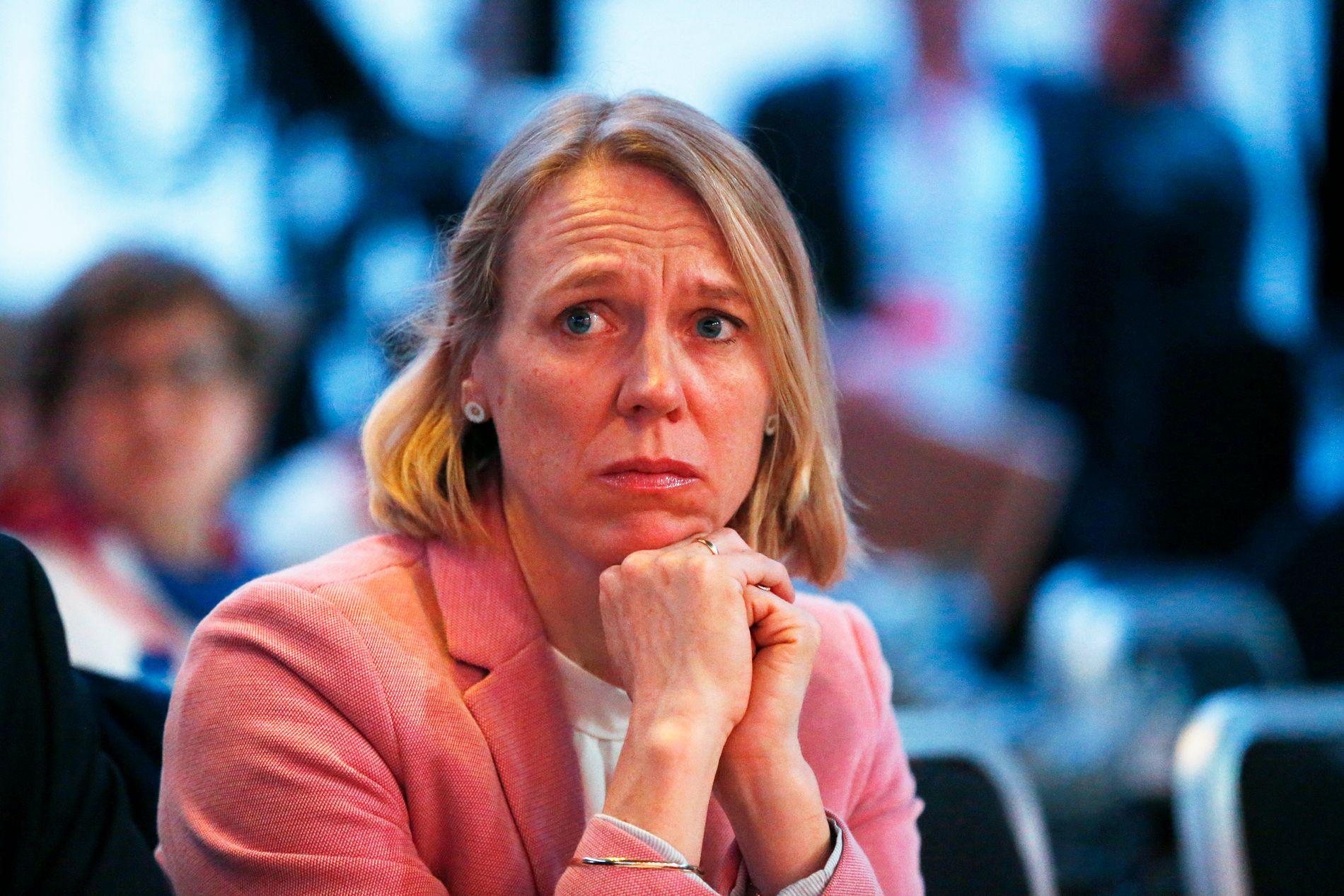 KRITISERT ETTER TRAKASSERINGS-UTTALELSE: Leder av kvinnenettverket  i Arbeiderpartiet Anniken Huitfeldt.