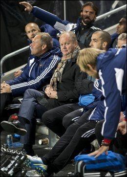 SUKSESS: Per-Mathias Høgmo ledet Djurgården til 2-2 mot AIK i går. Foto: Morten Sandberg