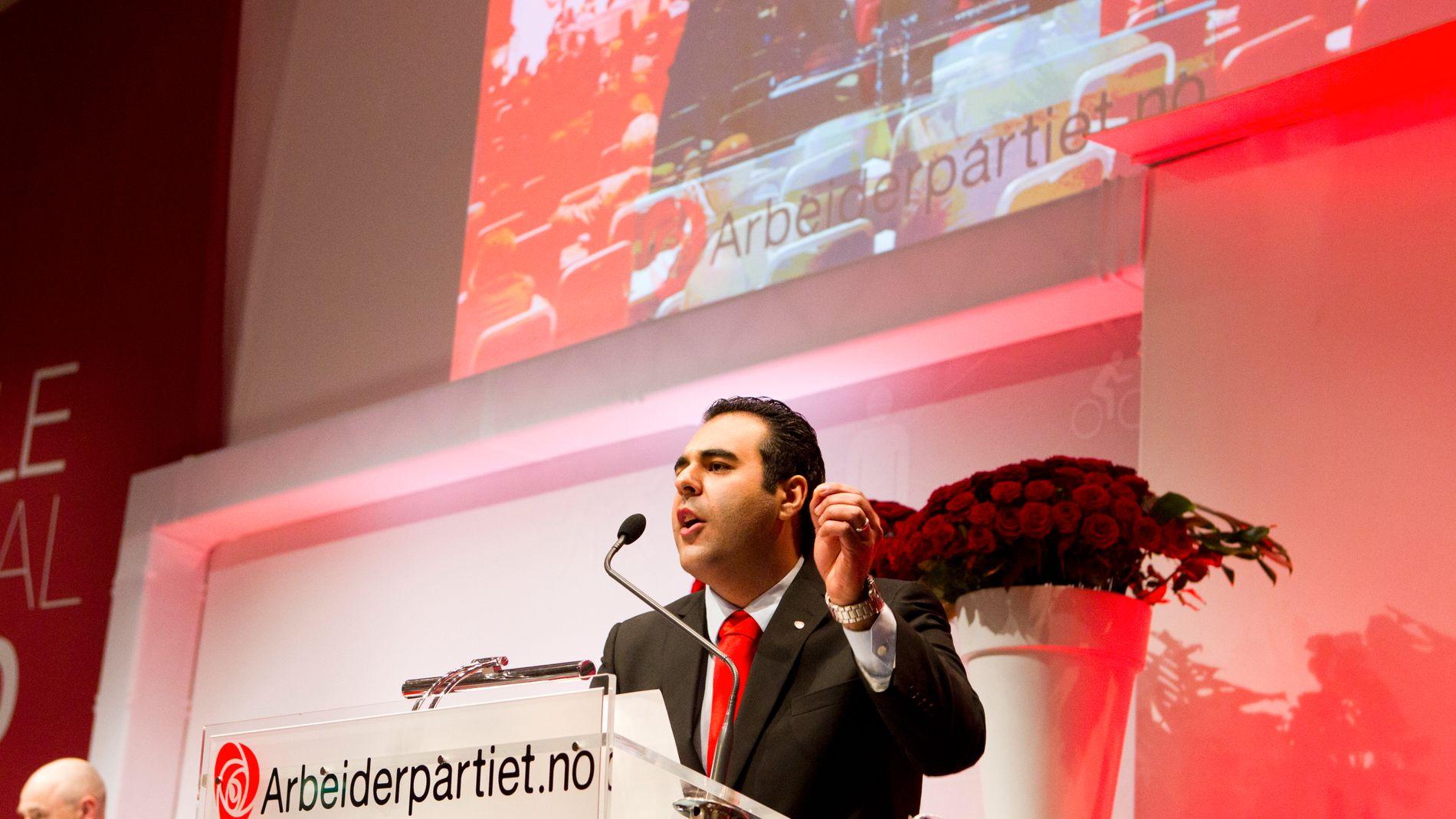 Arbeiderpartiets innvandringspolitiske talsmann, Masud Gharahkhani.