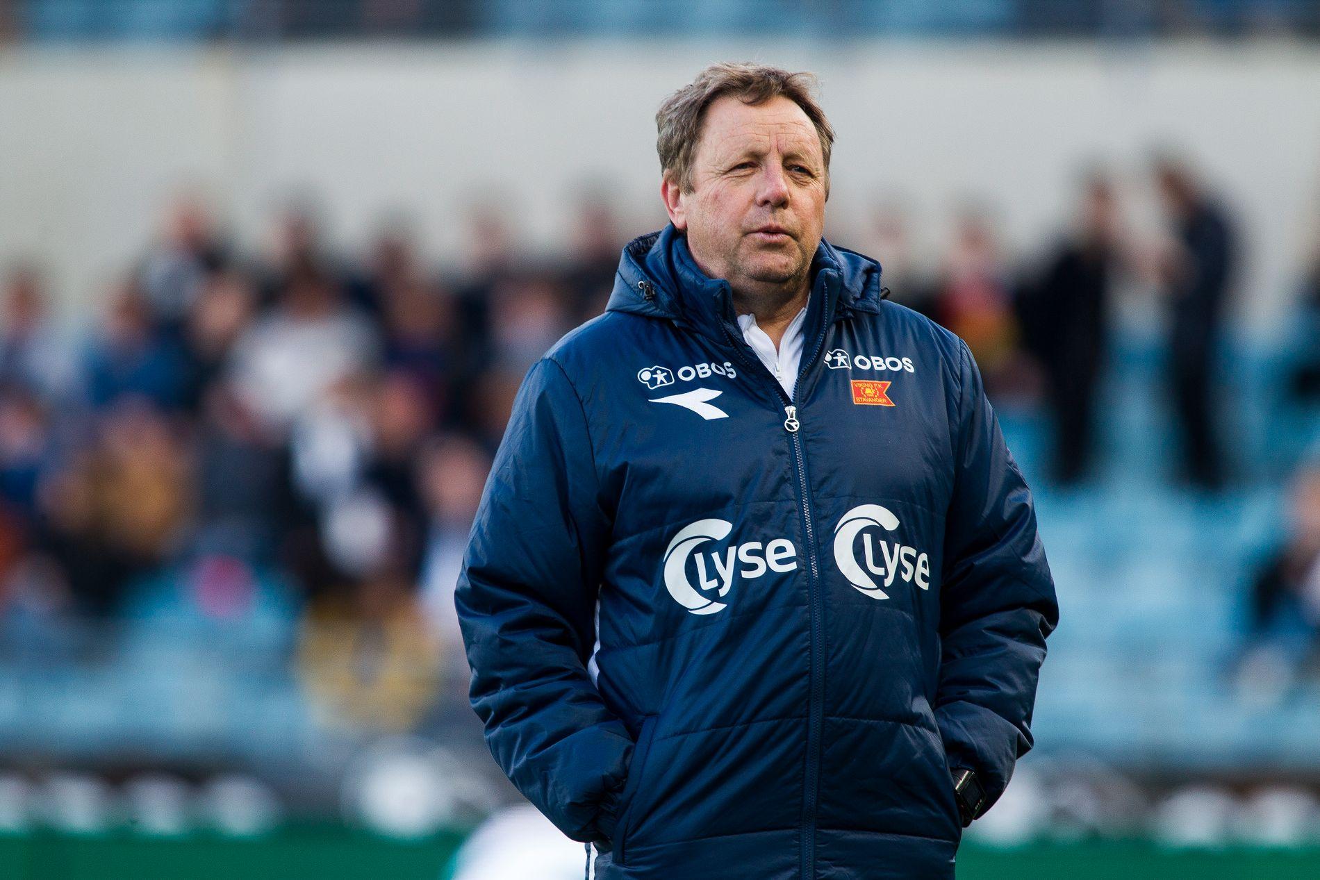 NY UTFORDRING: Viking-trener Bjarne Berntsen avbildet på SR-Bank Arena.