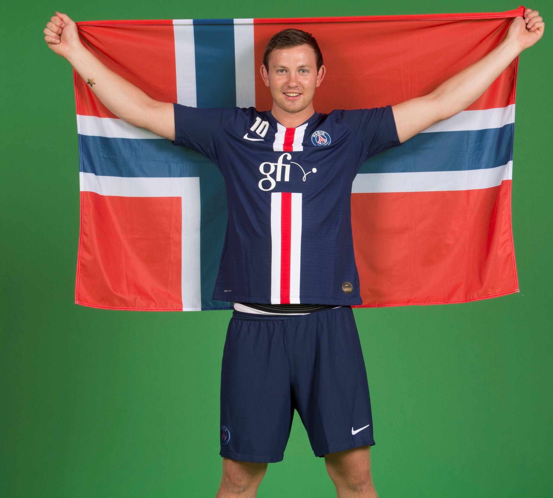 EM OG OL-KLAR: Sander Sagosen understreker at Norges håndballandslag skal til OL i Tokyo neste sommer.
